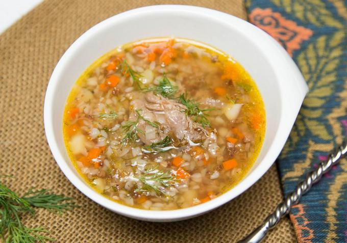 суп с мясом рецепты