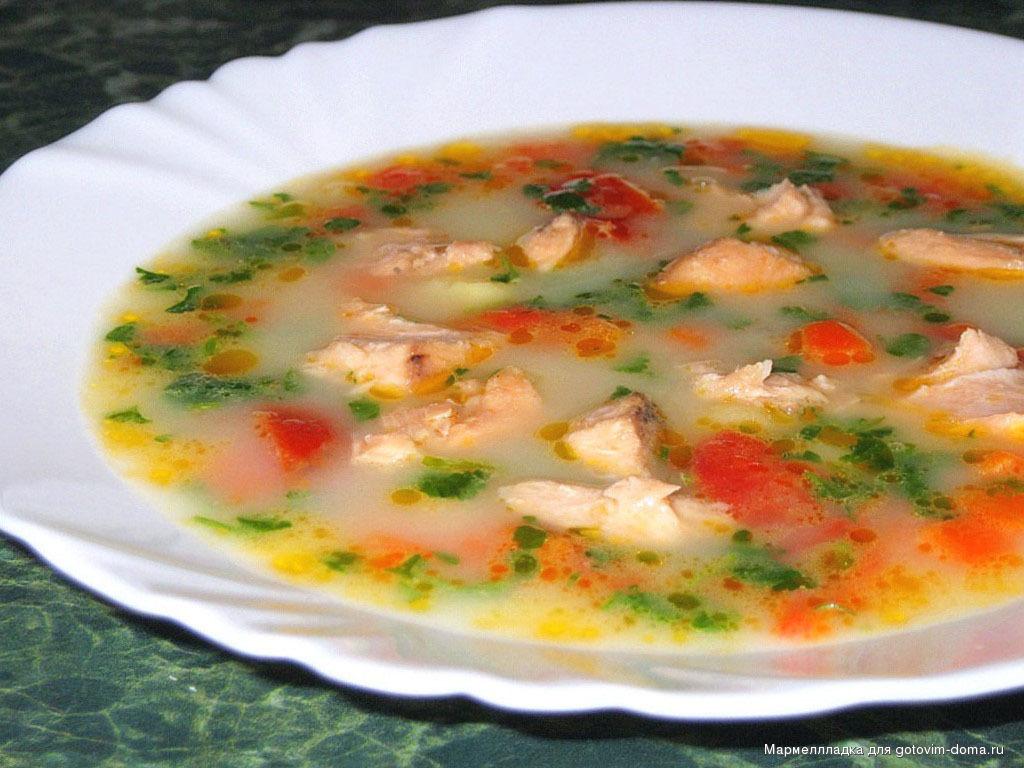 Грибной суп со сливками «От лисички»