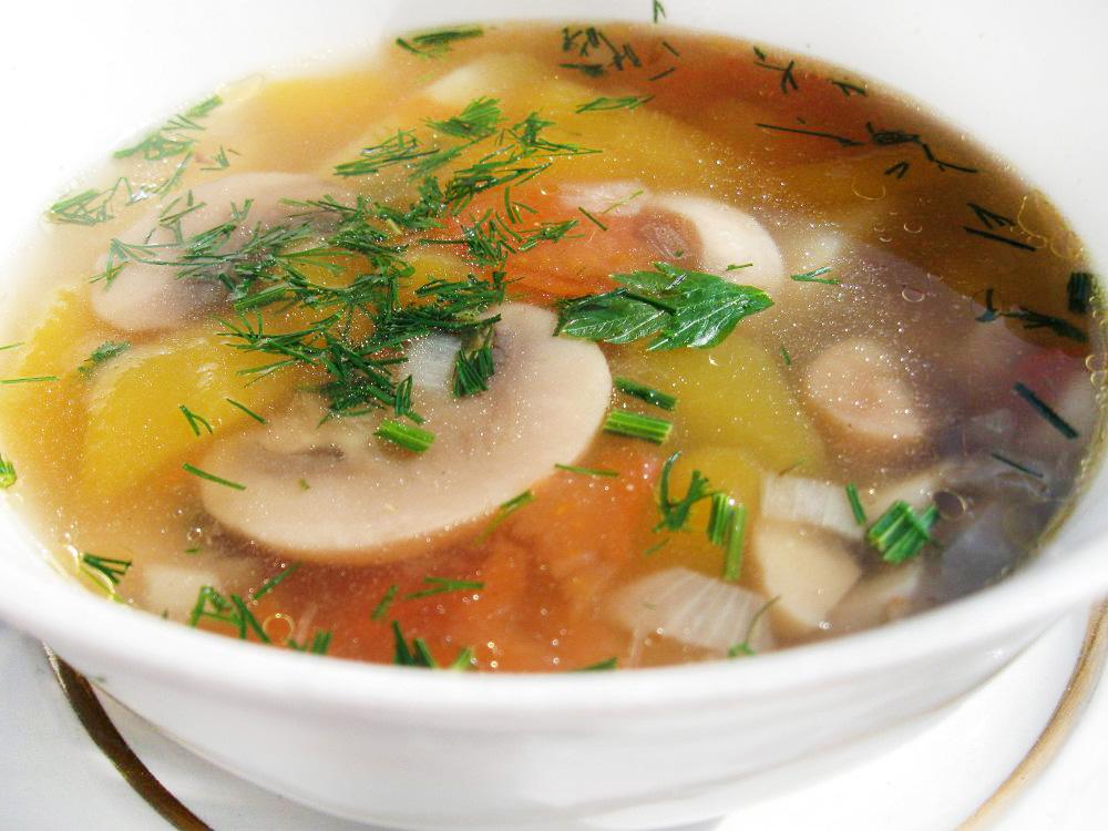 Как приготовить для супа ингредиенты