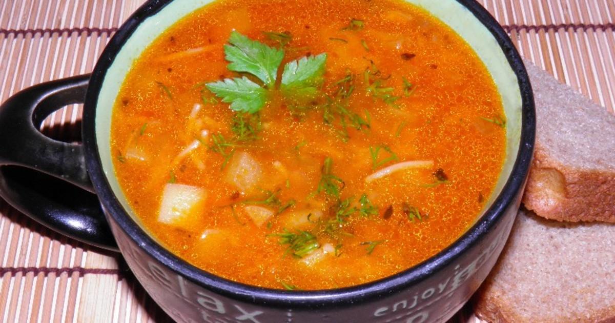 Как сварить суп с картофелем
