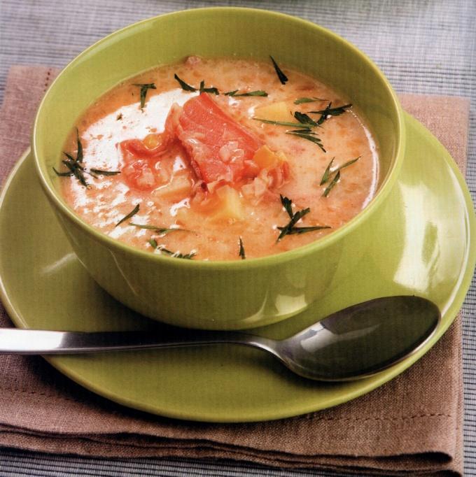 Копченая рыба для финского супа