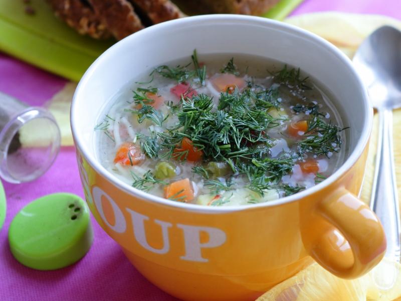 Рецепт супа из замороженных овощей