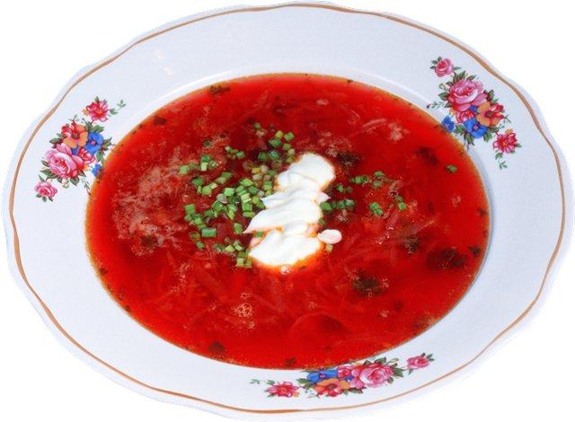 Суп для детей из свеклы