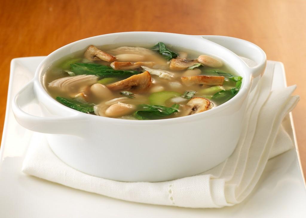Суп из кукурузы с морепродуктами