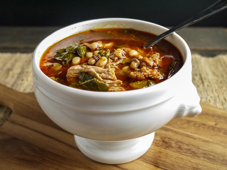 Суп фасолевый Йокаи