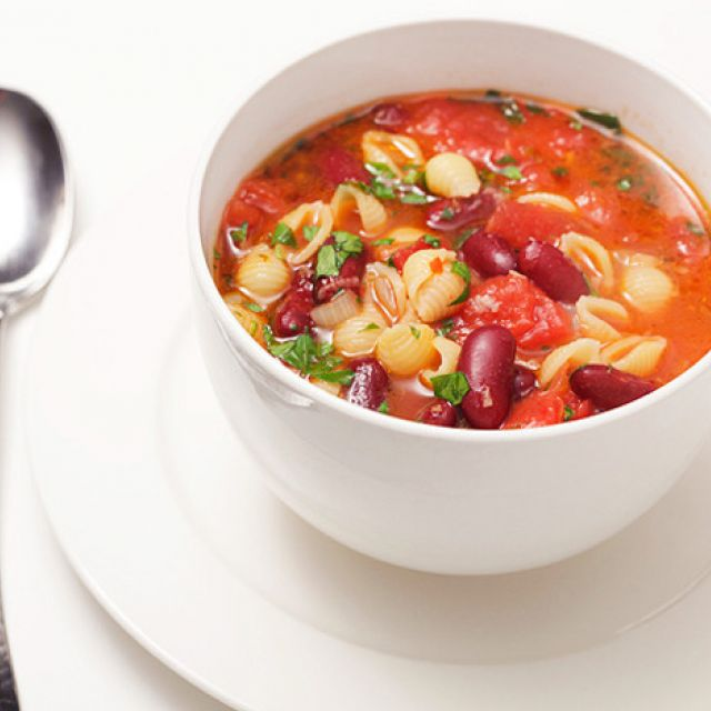Фасолевый суп (английский рецепт)