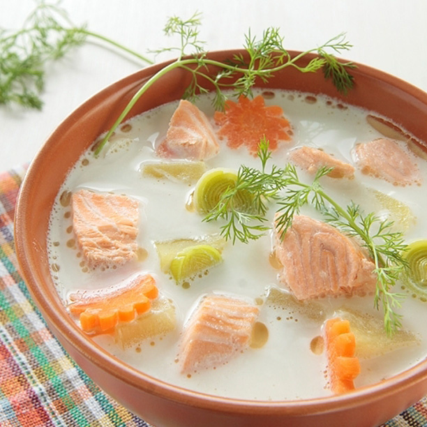 Финский суп из рыбы – уха