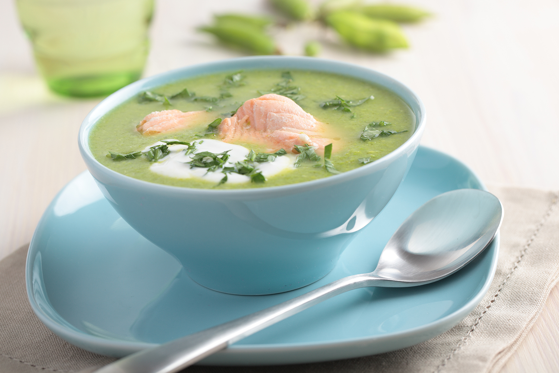 Финский суп с овощами