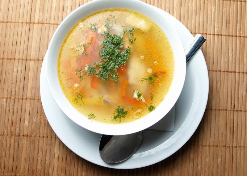 """Суп с мясом и картошкой """"После бала"""""""