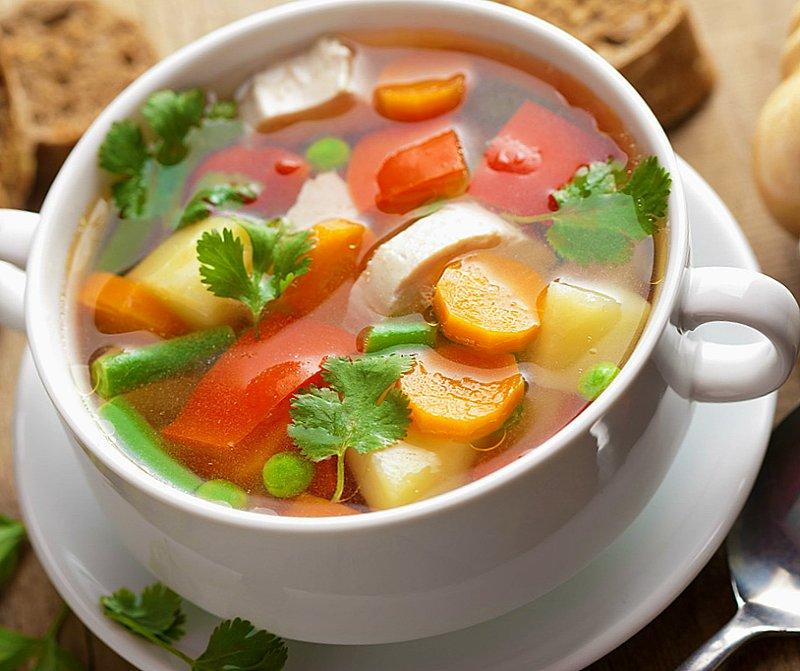 польза овощных супов для похудения